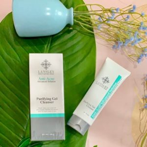 Gel rửa mặt ngừa và trị mụn Beauty Buffet Lansley Anti-Acne Advanced Solution Purifying 100g