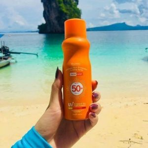 Xịt chống nắng Scentio Ultimate Sun Protection Cooling Spray Face & Body SPF50+ PA+++
